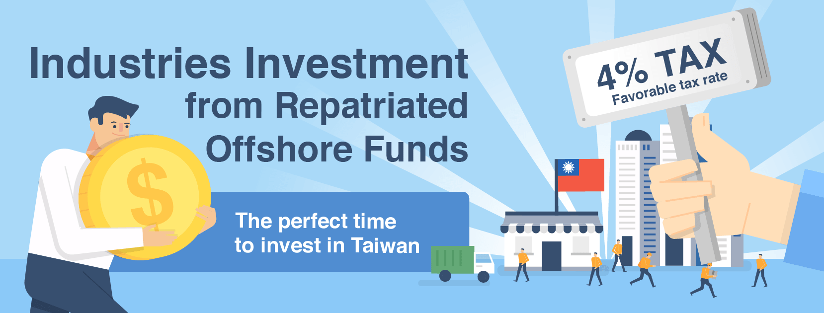 Industries investment from repatriated offshore funds